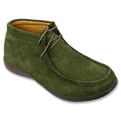 Men's Chukkas For Sale Alegria Packard Men Taupe Nubuck AM PAC 609 Fast Shipping