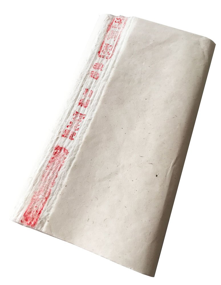 Easyou Yunlong Wangtonghe Handmade Half Ripe Xuan Paper Full of White Wingceltis Fiber for Chinese Japaness Calligraphy and Painting 70x138cm(27.5''x52.3'') 100sheets