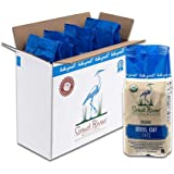 Great River Organic Milling, Oatmeal, Steel Cut Oats, Organic, 22 Ounces (Pack of 4)