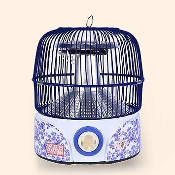 Calentador QFFL, Tipo de Jaula de pájaros Estufa para Asar pie para Hornear de Oficina - 1000W Enfriamiento y calefacción: Amazon.es: Hogar