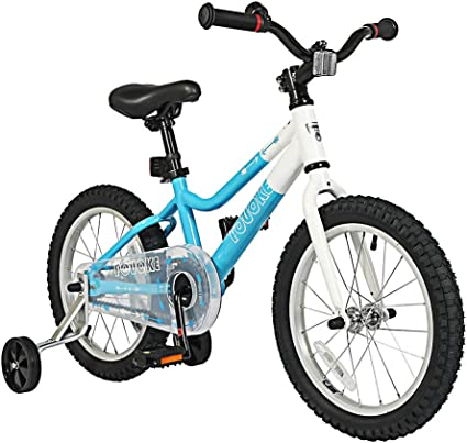 Amazon Com Kids Bike Boys Bicycle Leisure Youth Bike 16 Inch With Training Wheels Children Bicycle 20 Inch With Kickstand For Girls Boys 16 Inch Blue Sports Outdoors