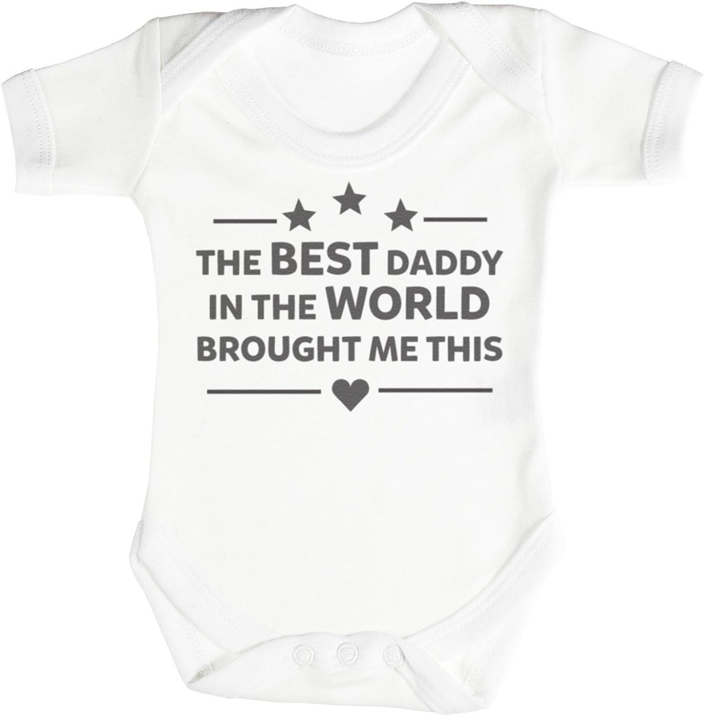 The Best Daddy In The World Baby Bodysuit Babygrow