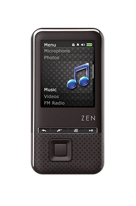 amazon com creative zen style 300 8 gb mp3 and video player black rh amazon com Creative Zen Portable Media Center Zen Symbols