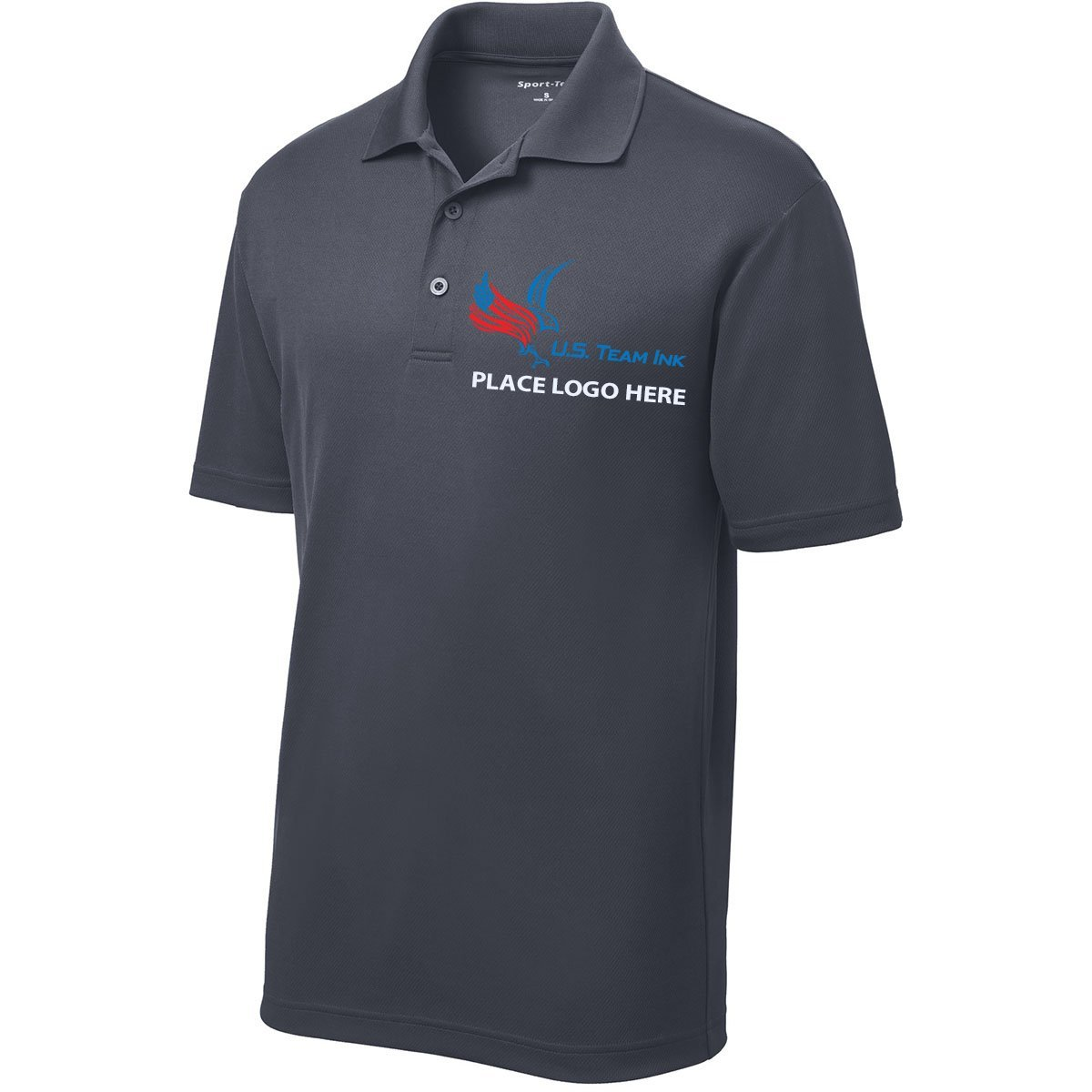 Amazon Us Team Ink Custom Embroidered Dry Fit Mesh Polo Shirt