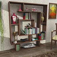 Universal Rugs DKRB1092 Beverly Bookcase, 49 x 59 x 9 , Wenge