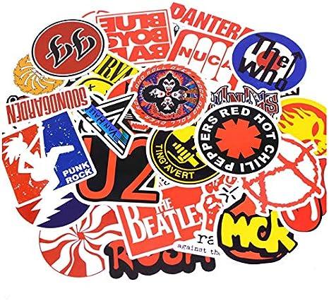 50 unids/pack Moda Punk Rock Graffiti Pegatinas Kid Toy Sticker ...