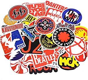 50 unids/pack Moda Punk Rock Graffiti Pegatinas Kid Toy Sticker ...