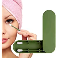 Herbruikbaar wattenstaafje, dubbelzijdige, milieuvriendelijke wattenstaafjes Oorreinigingsstokjes Cosmetische knop met…