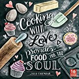 Cooking With Love Provides Food For The Soul 2018 Wall Calendar (CA0120)