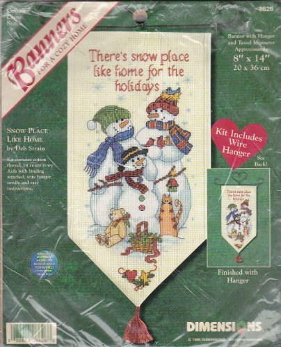 Dimensions 8626 Counted Cross Stitch Kit 8