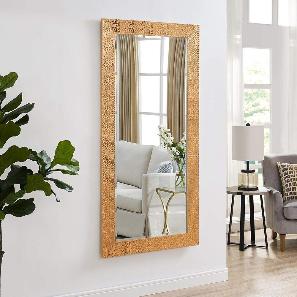 Buy Creative Arts N Frames Wood Framed Wall Mirror 21 X 40 Inch Copper Online At Low Prices In India Amazon In