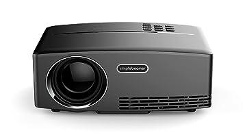Mini proyector multimedia portátil 1800 lúmenes cine en casa fiestas ...