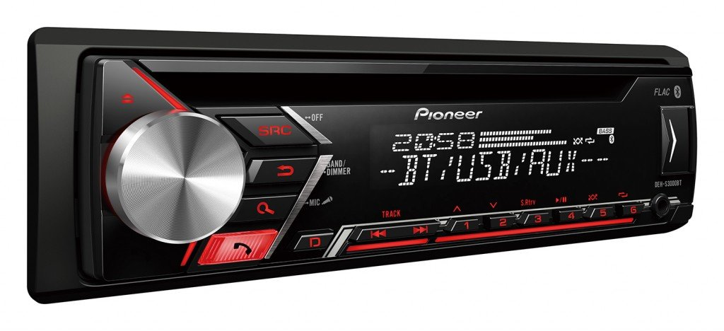 JUST SOUND best choice for caraudio Einbauset f/ür Renault Megane /& Scenic 2 USB CD MP3 Android Einbauzubeh/ör Bluetooth Autoradio Radio Pioneer DEH-S3000BT