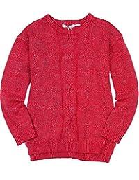 Deux par Deux Girls' Cable Sweater an Eye on Fashion, Sizes 5-12