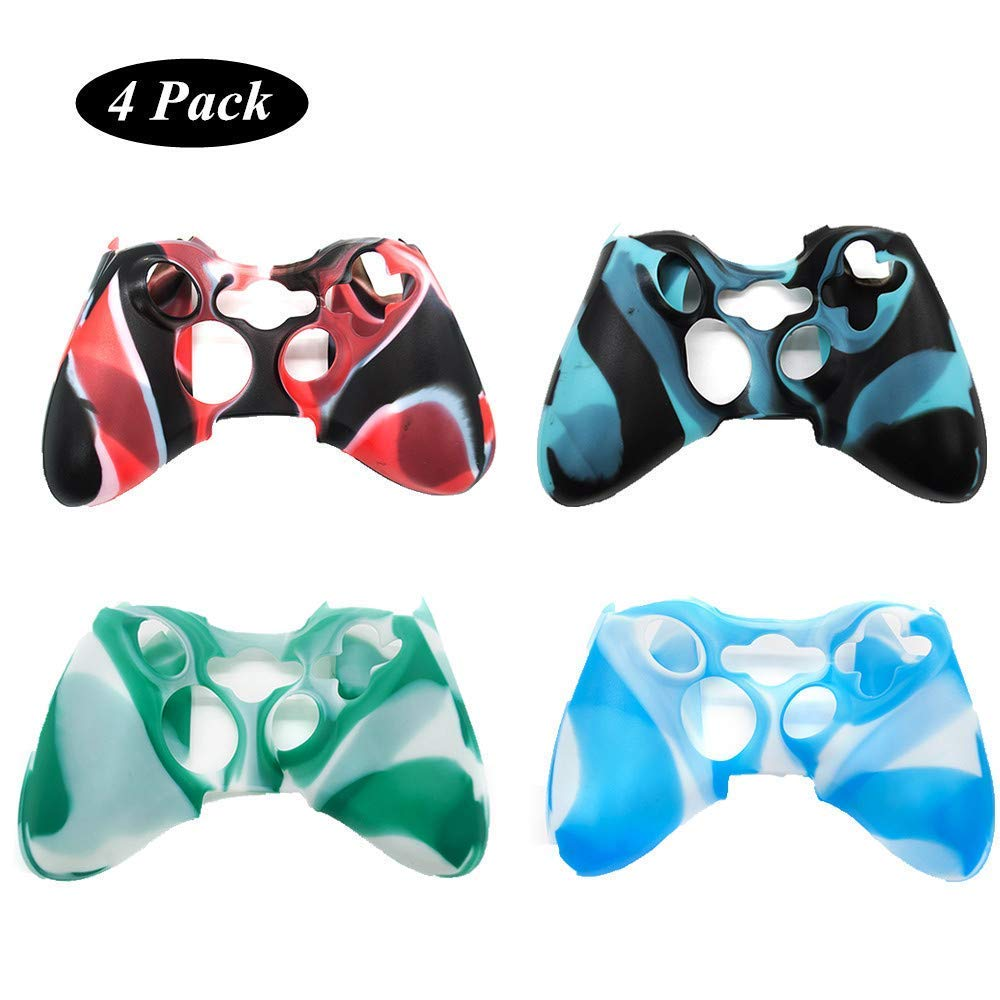 4 Pack of Silicone Xbox 360 Controller