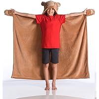 Kangaru Manta 100x130 cm, Suave poliéster