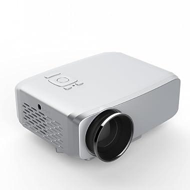 simplebeam V3 LED LCD (WVGA) Mini Video Projector - International Version (No Warranty) - DIY Series - White (FP8048V3W-IV3)