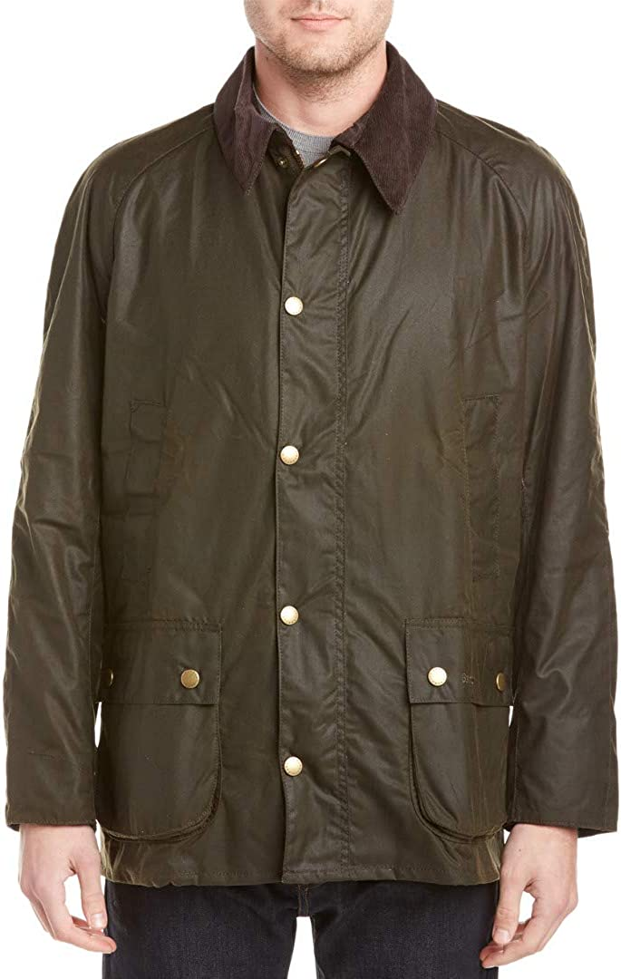 Barbour Men's Ashby Waxed Cotton Jacket at  Men's Clothing store