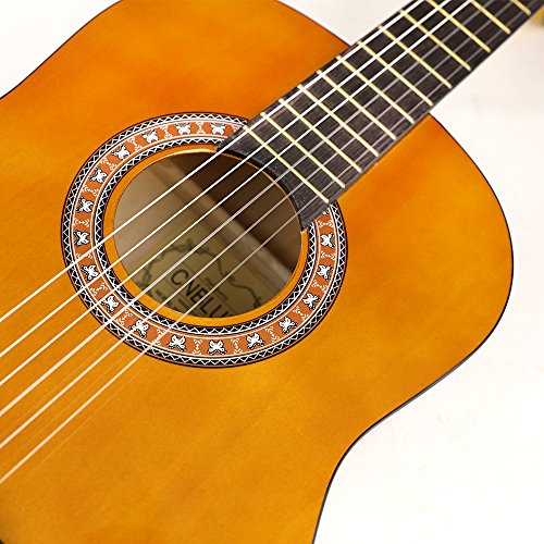 CNBLUE 3/4 Size Classical Acoustic Guitar 36 inch Nylon Strings Guitar for Beginners Kid Guitar - Image 3