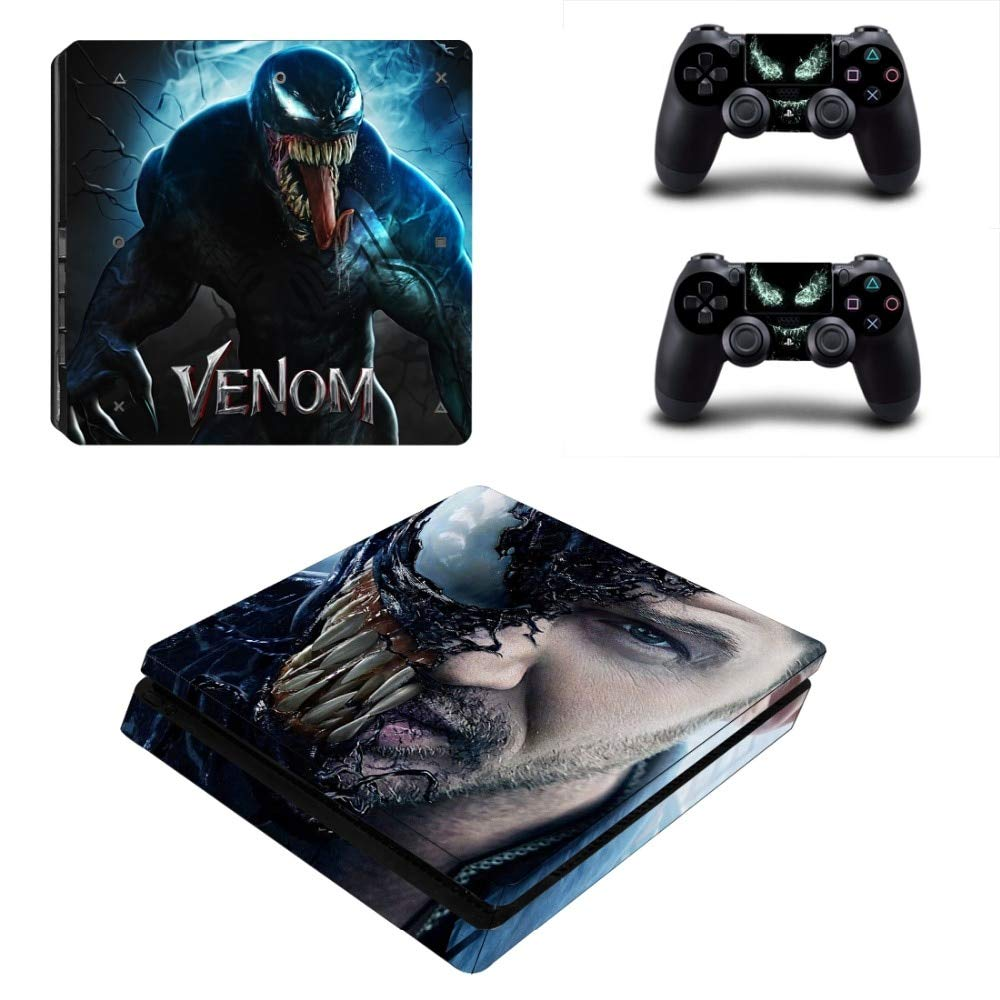 Homie store ps4 pro skin ps4 skins ps4 slim sticker venom skin for playstation 4 ps4 slim custom design sticker for console controller cover play