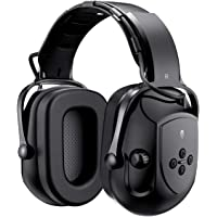 Mpow HP102A Bluetooth Noise Reduction Safety Ear Muffs, NRR 29dB/SNR 36dB Adjustable Ear Hearing Protection Headphones…