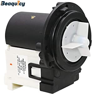 4681EA2001T Washer Drain Pump Motor by Beaquicy - Replacement part for Kenmore and LG Washing Machine (OEM 4681EA2001T Original Version)