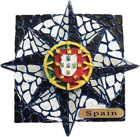 Granada 3D Alhambra España Nevera Imán de Nevera Recuerdos Turísticos Hecho A Mano de Resina Artesanía Pegatinas Magnéticas Inicio Cocina Decoración Regalo de Viaje: Amazon.es: Hogar