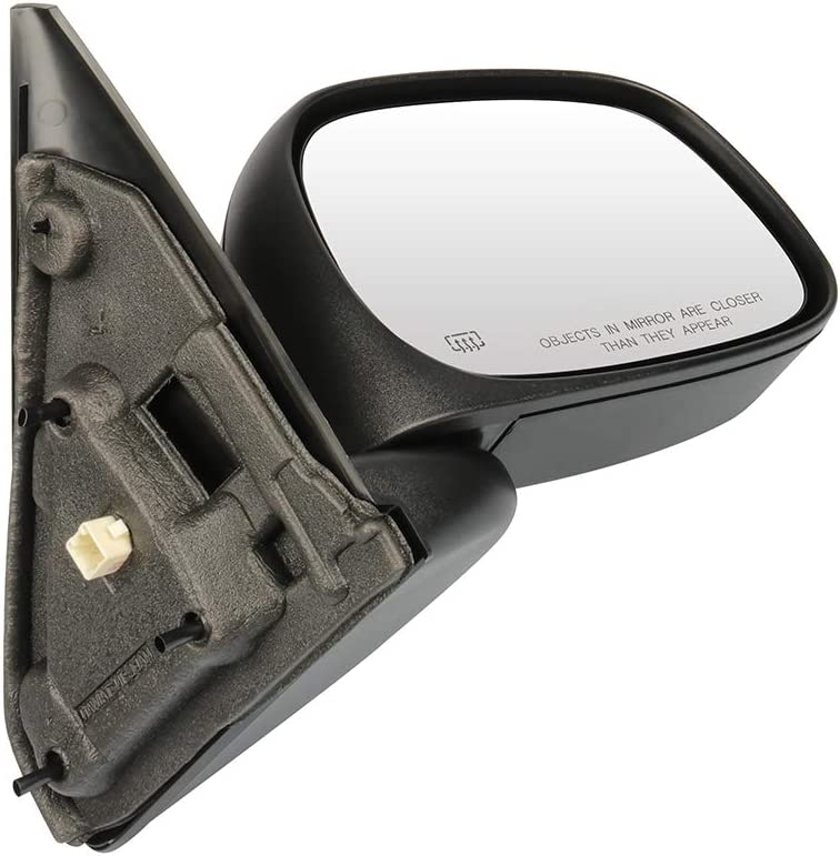 SCITOO Passenger Right Side Mirror Convex Side View Mirror Fits for 2003-2009 for Dodge for Ram Pickup Truck 1500 2500 3500 Power Control Heated Manual Folding 55077440AE CH1321215