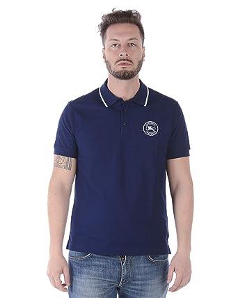 Burberry Polo Moreton Hombre BLU XL: Amazon.es: Ropa y accesorios