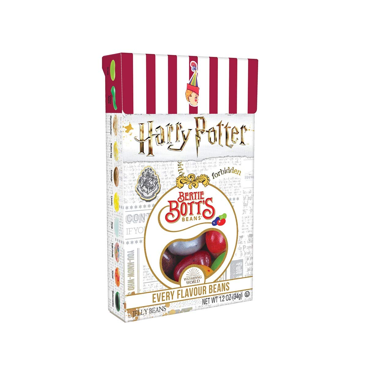 Jelly Belly Harry Potter Bertie Bott's Every Flavor Beans - 1.2 oz - 24 ct by Jelly Belly