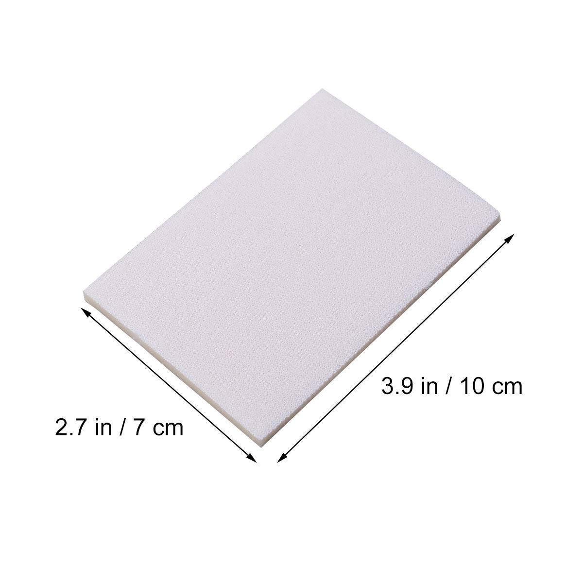 UKCOCO Bloque de pulido de esponjas de 10 mallas PCS 2000 con papel abrasivo
