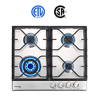 Induction Cooktop ETL Safety Certified 12 Electric Stove With 2 Burners Kids Safety Lock /& Easy To Clean Gasland chef IH30BF Built-in Induction Cooker Vitro Ceramic Surface Electric Cooktop