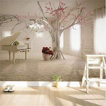 3d Wallpaper Vliesstoff Grosses Wandbildmoderne Kunst Klavier Ast
