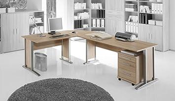 Office Line Winkelkombination Schreibtisch Ecktisch Material