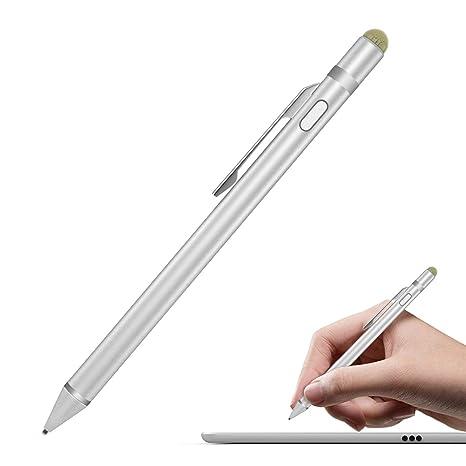 Flybiz Stylus Precisión, Punta Extra Fina 1.45mm Stylus Pen Pluma Capacitiva, Bolígrafo Digital