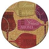 Thirstystone Colorful Wine-III Cork Coaster Set