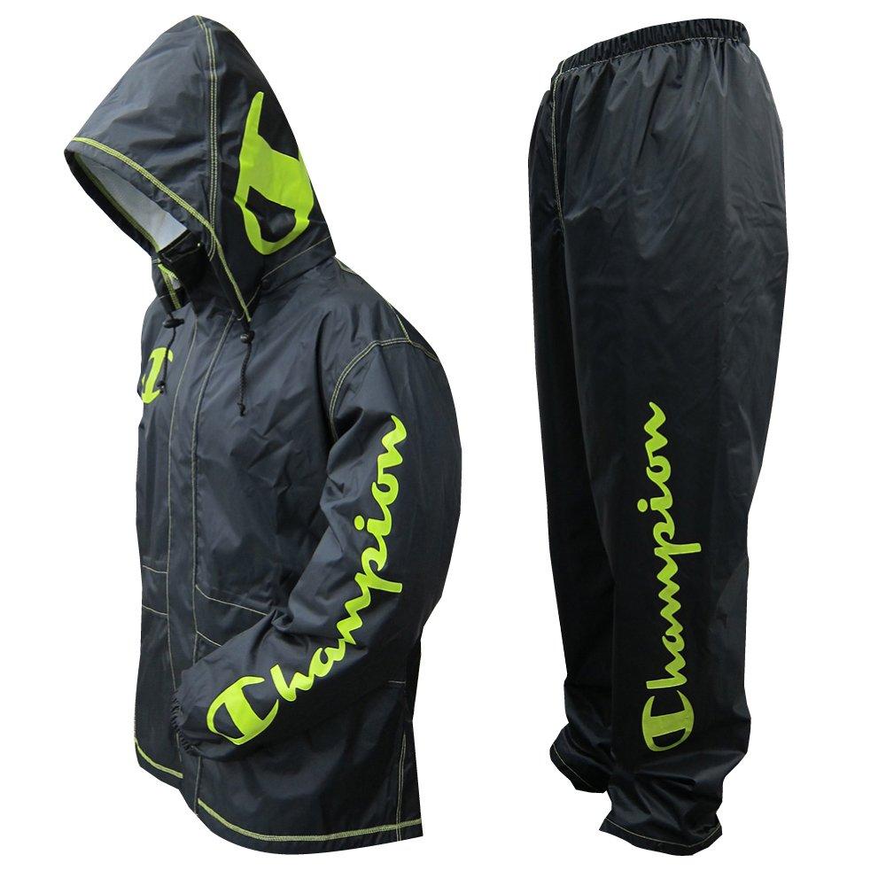 チャンピオン 上下スーツ ライムグリーン M 透湿 1.5層レイヤー 止水テープ 155671 B0182HI3U6 Medium|ライムグリーン ライムグリーン Medium