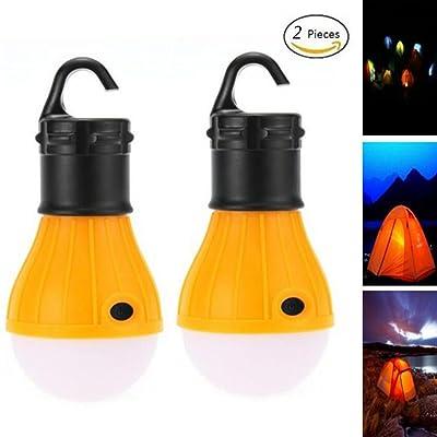 Seroda Portable LED Lanterne De Camping, Nuit d'urgence Lampe Pour Usage Intérieur et Extérieur Randonnée, Pêche