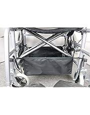 Fushida Universal Walker Hanging Bag - Walker Bag for Folding Walker - Rollator Basket, Cupholder & Wheelchair Accessory Storage Food, Book, Cell-phone(FGJ249-CA)