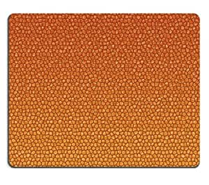 Abstract Orange Textures Scales Photo Mouse Pads Customized Made to Order Support Ready 9 7/8 Inch (250mm) X 7 7/8 Inch (200mm) X 1/16 Inch (2mm) High Quality Eco Friendly Cloth with Neoprene Rubber MSD Mouse Pad Desktop Mousepad Laptop Mousepads Comfortable Computer Mouse Mat Cute Gaming Mouse pad by runtopwell