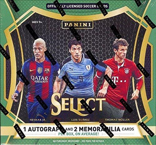 2016-17 Panini Select Soccer Hobby Box - Soccer Hobby Box