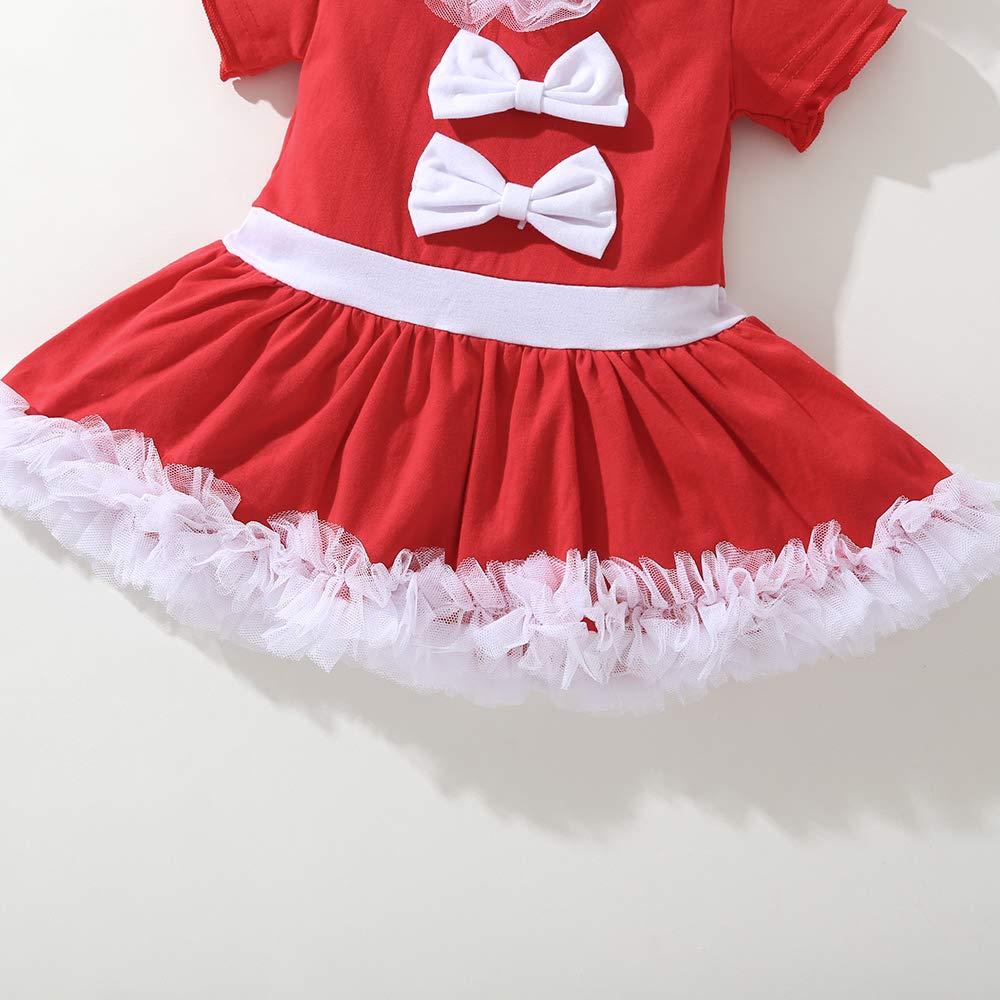 Lee Little Angel Nuovo Natale Sottile Vestito Ragazza Arco Plissettato con Cappuccio Princess Dress 1 Cappello, 1 Gonna