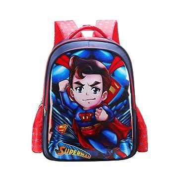JIAN Mochila Infantil De Dibujos Animados con Anime Super Hero,E-L: Amazon.es: Hogar