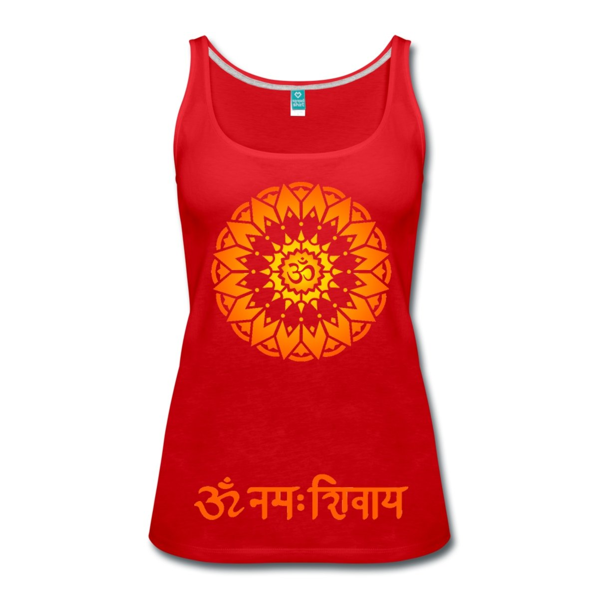 Spreadshirt Om Namah Shivaya Mantra Women's Tank Top S205909-A18228116-1