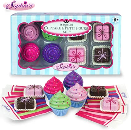 """Doll Clothes 18/"""" Sophia/'s Cupcake Treats Toy Sized For American Girl Dolls"""