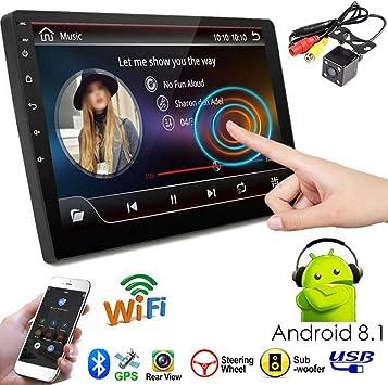 PolarLander Radio del Coche Sistema Android de 9 Pulgadas Estéreo ...