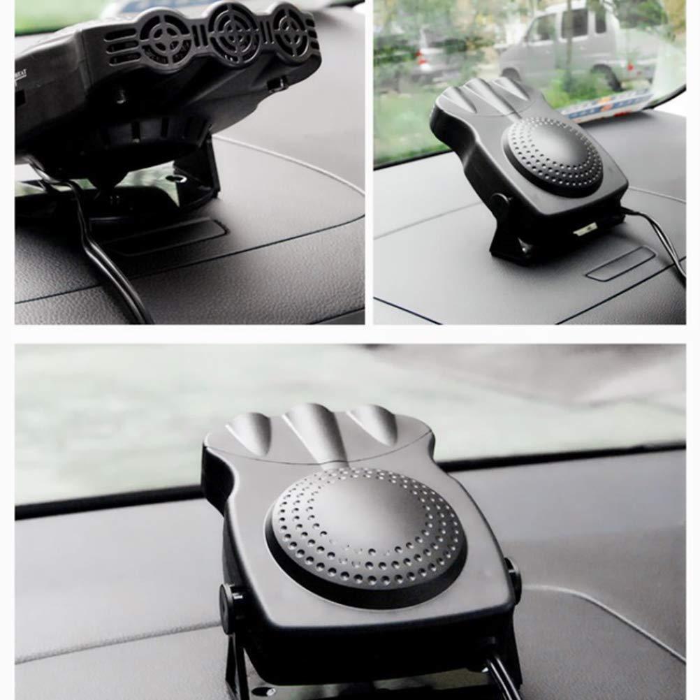 12V voiture chauffage d/égivreur d/ésembuage d/ésembuage extr/êmement rapide chauffage v/éhicule ventilateur de refroidissement 3 prises de courant allume-cigare LIDIWEE Portable voiture chauffage