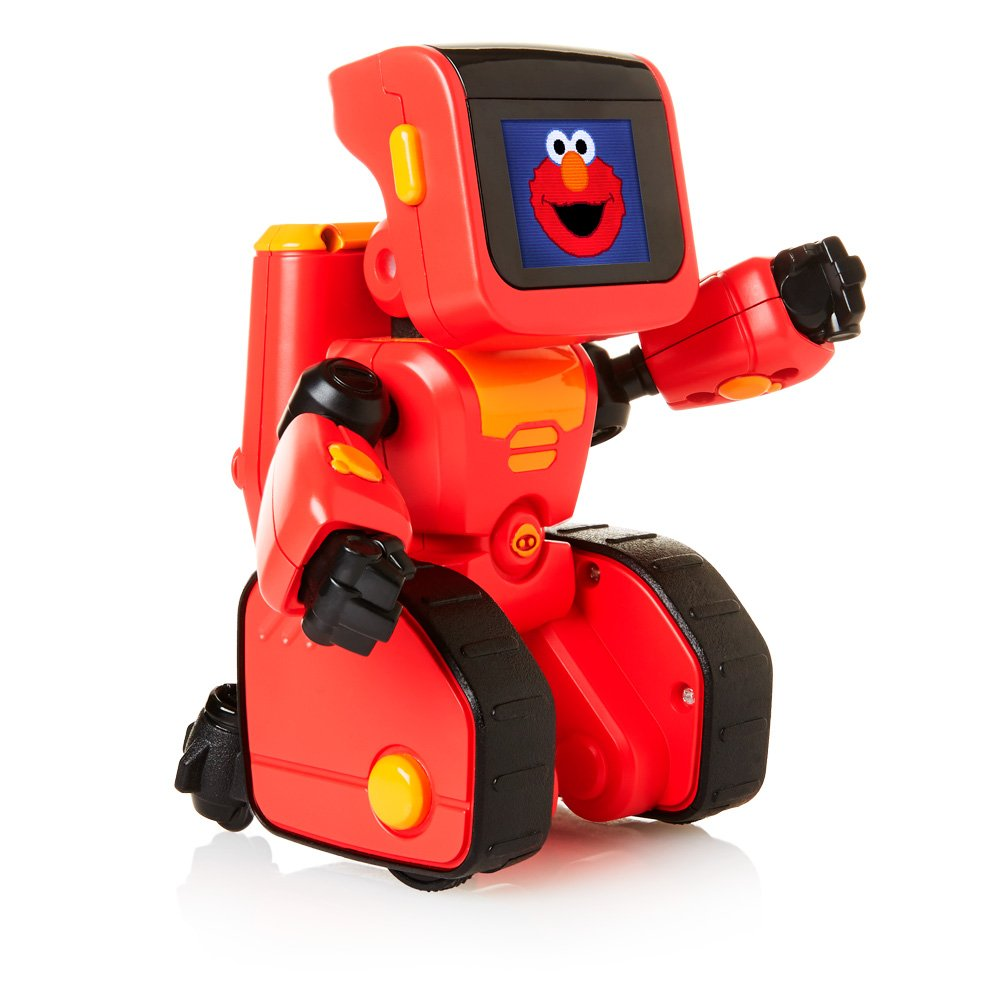 WowWee Elmoji Junior Coding Robot Toy, Red by WowWee (Image #5)