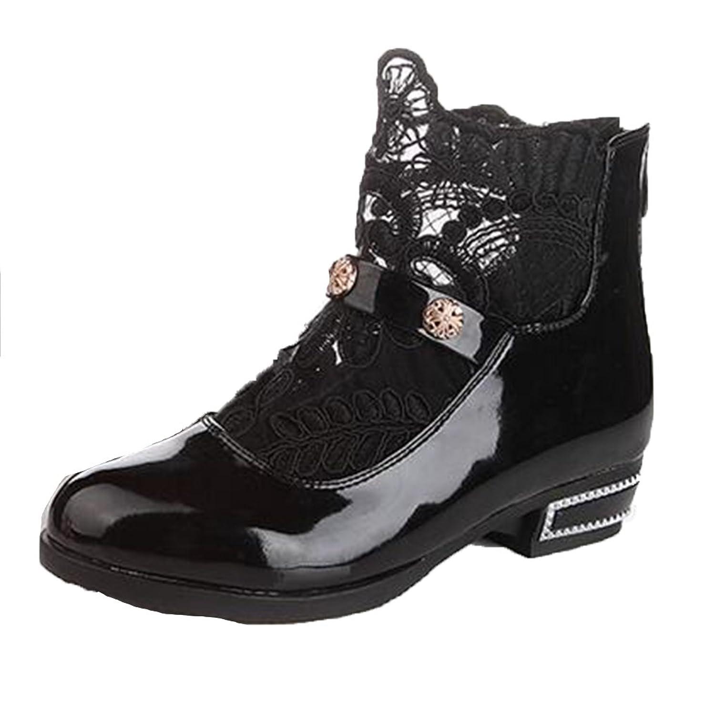 8d07303ed1f51 HGTYU-Ma mère le munir de bottes chaudes Chaussures Coton Soft Base ...