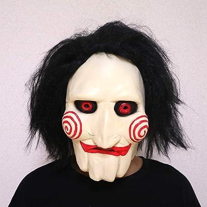 NF Motosierra Asesino Máscara De Película, Máscara De Halloween, Scary Ghost Mask (Tamaño